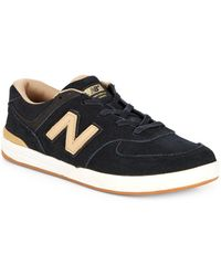 New Balance | Two-tone Logo Sneakers | Lyst
