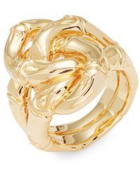 John Hardy - Yellow Gold Bamboo Ring - Lyst