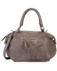 Liebeskind Berlin - Distressed Shoulder Bag - Lyst