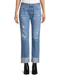 AG Jeans - Sloan Vinte Straight Leg Jeans - Lyst