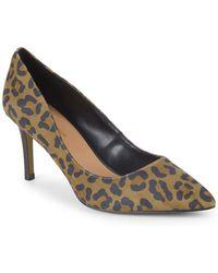 BCBGeneration - Marci Leopard Stiletto Court Shoes - Lyst
