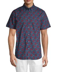 Ben Sherman - Parks Floral Button-down Shirt - Lyst