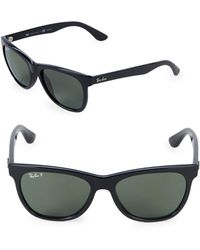 872f9ee80e1 Lyst - Persol Black Po3114 Wayfarer Sunglasses in Black for Men