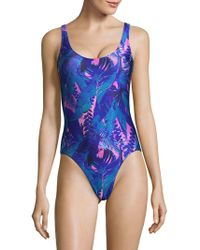 We Are Handsome | One-piece Floral Swimsuit | Lyst