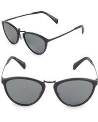 Paul Smith - Hawley 54mm Oval Sunglasses - Lyst