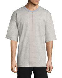 DIESEL - Titanico Short-sleeve Sweatshirt - Lyst