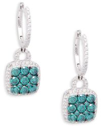 Le Vian - Exotics® Blueberry Diamonds® And Vanilla Diamonds® 14k Vanilla Gold® Earrings - Lyst