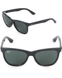 cbd27689d9 Lyst - Ray-Ban New Wayfarer Polarized Sunglasses in Black for Men