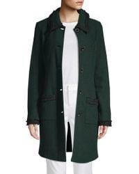 Karl Lagerfeld - Fringe Textured Jacket - Lyst