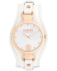 Versus - Stainless Steel Roslyn Strap Watch - Lyst