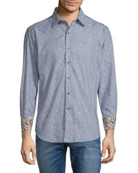 Robert Graham - Garden Lake Cotton Button-down Shirt - Lyst