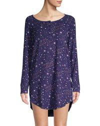 ae67e577cd Juicy Couture - I Dream Of Juicy Print Sleep Shirt - Lyst