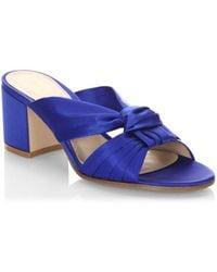 b3c800544385 Rene Caovilla Twisted Crystal Platform Sandals Light Golden in ...