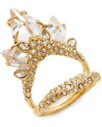Alexis Bittar - Miss Havisham Crystal Cluster Ring - Lyst