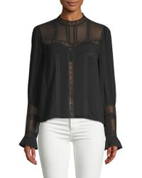 English Factory - Poet-sleeve Top - Lyst