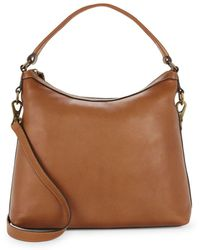 Frye - Lily Leather Hobo Bag - Lyst