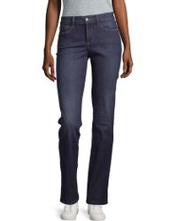 NYDJ - Marilyn Straight Jeans - Lyst