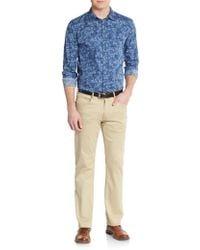 Calvin Klein Jeans - Regular-fit Bijou Floral-print Sportshirt - Lyst