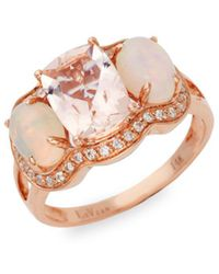 Le Vian - 14k Strawberry Gold®, Peach Morganitetm, Neopolitan Opaltm & Vanilla Diamonds® - Lyst