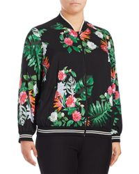 Vince Camuto - Plus Floral Printed Rich Jacket - Lyst