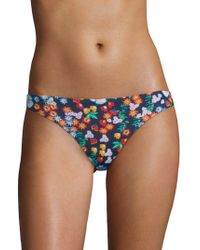 Shoshanna - Floral-print Bikini Bottom - Lyst