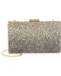 Love Moschino - Glitter Convertible Box Clutch - Lyst
