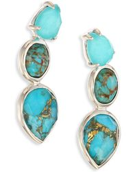 Ippolita - 925 Rock Candy Turquoise Drop Earrings - Lyst