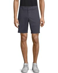 Saks Fifth Avenue - Stretch-cotton Chino Shorts - Lyst