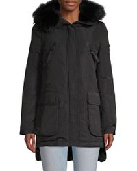 10 Crosby Derek Lam - Fox Fur-trimmed Down Parka - Lyst
