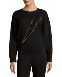 Chrldr - Lightning Bolt Cotton Sweater - Lyst