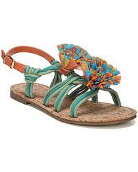 Circus by Sam Edelman - Bice Fabric Flat Sandals - Lyst