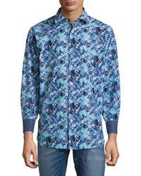 Bugatchi - Classic Woven Cotton Button-down Shirt - Lyst