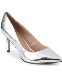 BCBGeneration - Marci Scrunched Metallic Pumps - Lyst