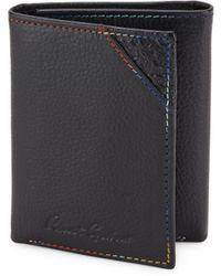 Robert Graham - Clarke Leather Tri-fold Wallet - Lyst