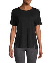 Vince - Roundneck High-low Tee - Lyst