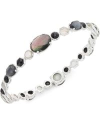 Ippolita - Rock Candy Sterling Silver & Multi-stone Bangle - Lyst