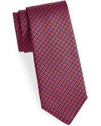 Saks Fifth Avenue - Link Silk Tie - Lyst