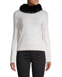 Surell - Fox Fur Headband/collar - Lyst