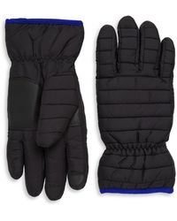 Saks Fifth Avenue - Quilted Gloves - Lyst