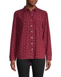 Premise Studio - Floral Button-down Shirt - Lyst