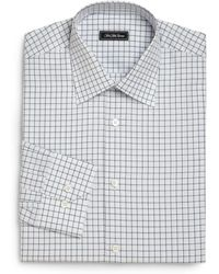 Saks Fifth Avenue - Regular-fit Checked Dress Shirt - Lyst