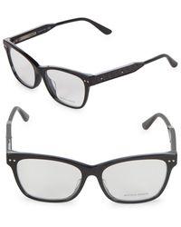 Bottega Veneta - 53mm Optical Glasses - Lyst