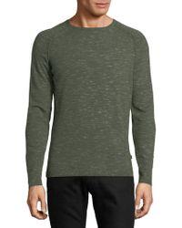 J.Lindeberg - Raglan-sleeve Heathered Sweater - Lyst