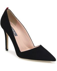 SJP by Sarah Jessica Parker - Rampling Suede Point Toe Pumps - Lyst