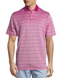 C&C California - Collection Skinny Stripe Pique Polo - Lyst