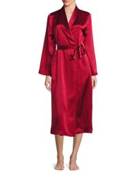 Arlotta By Chris Arlotta - Collection Silk Long Robe - Lyst