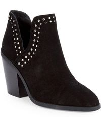 Steve Madden - Abbie Suede Ankle Boots - Lyst