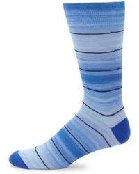 Saks Fifth Avenue - Striped Mid-calf Socks - Lyst