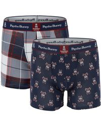 Psycho Bunny - 2-pack Boxer Briefs - Lyst