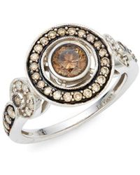 Le Vian - Chocolatier® Chocolate Diamonds® And Vanilla Diamonds® 14k Vanilla Gold® Ring - Lyst